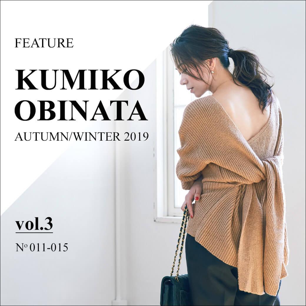KUMIKO OBINATA 2019AW vol.3
