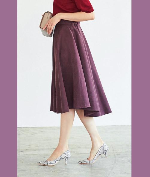 ボリュームサーキュラースカート 3,690円+tax