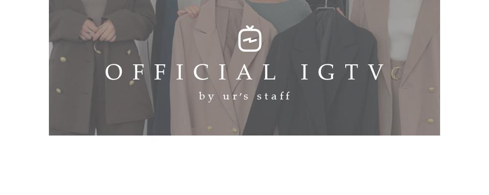星玲奈×ur'sの紹介IGTV