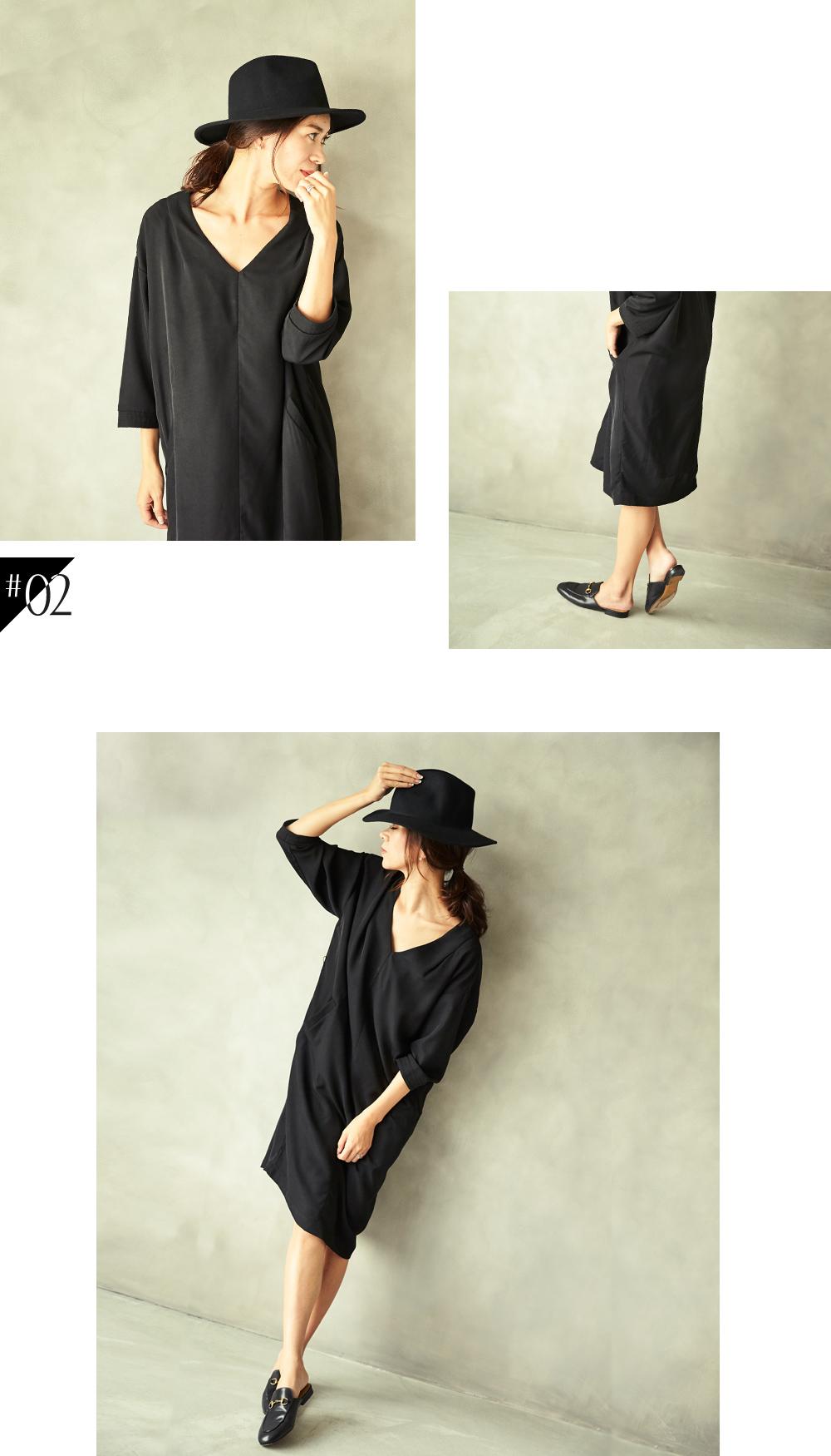 大人な着こなしで魅せるur'sの秋コレクション スタイリング大日方久美子(おびなたくみこ)_02