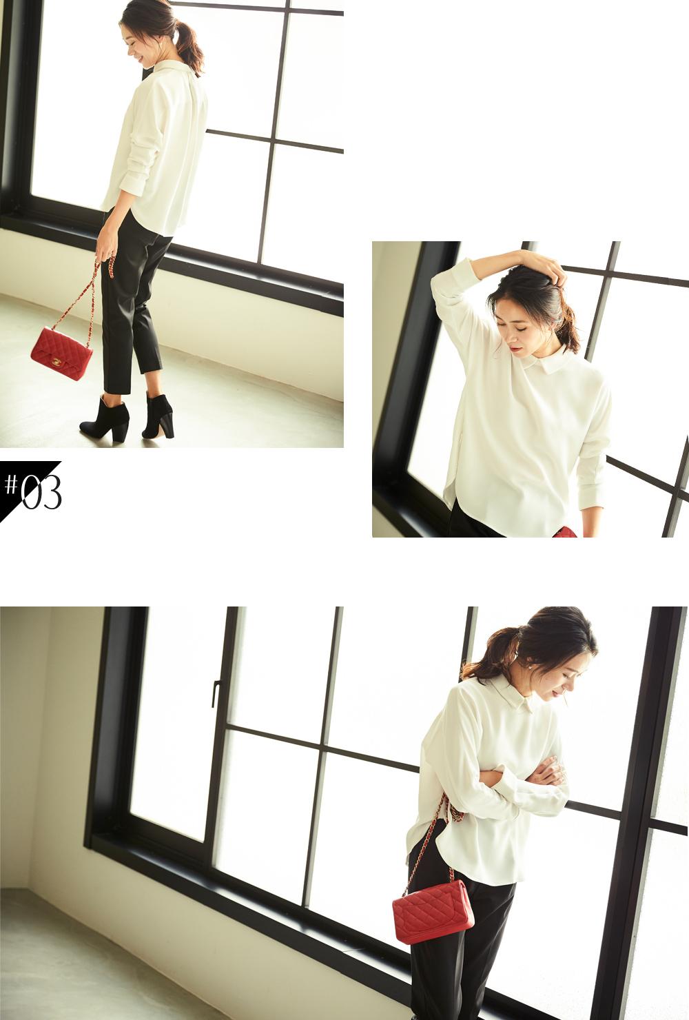 大人な着こなしで魅せるur'sの秋コレクション スタイリング大日方久美子(おびなたくみこ)_03