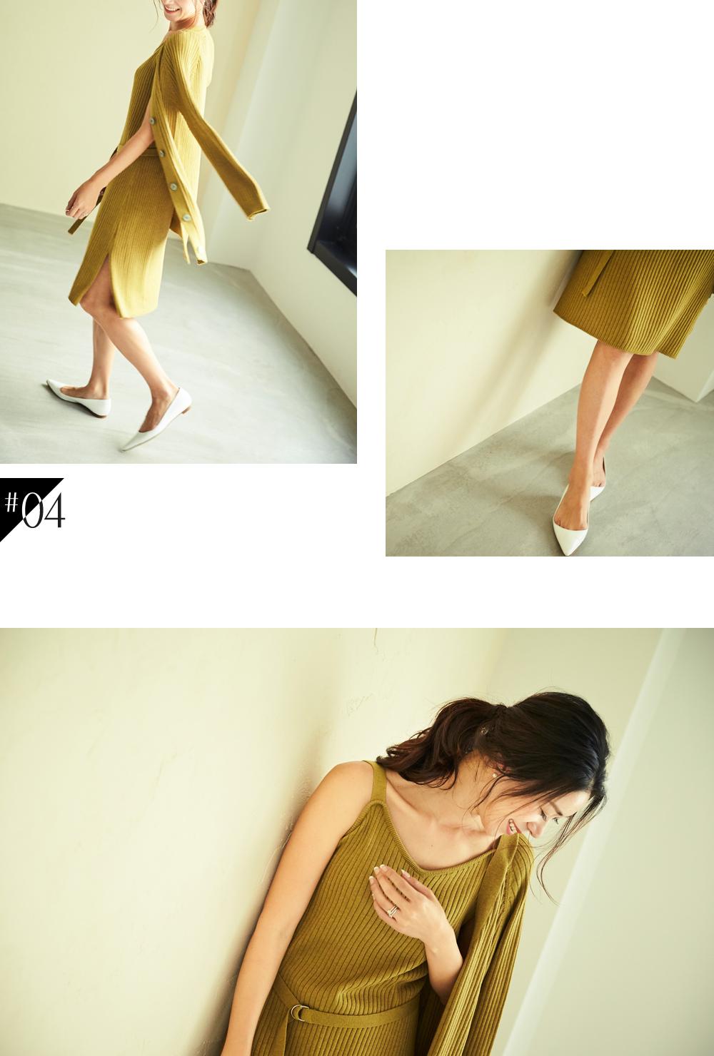 大人な着こなしで魅せるur'sの秋コレクション スタイリング大日方久美子(おびなたくみこ)_04