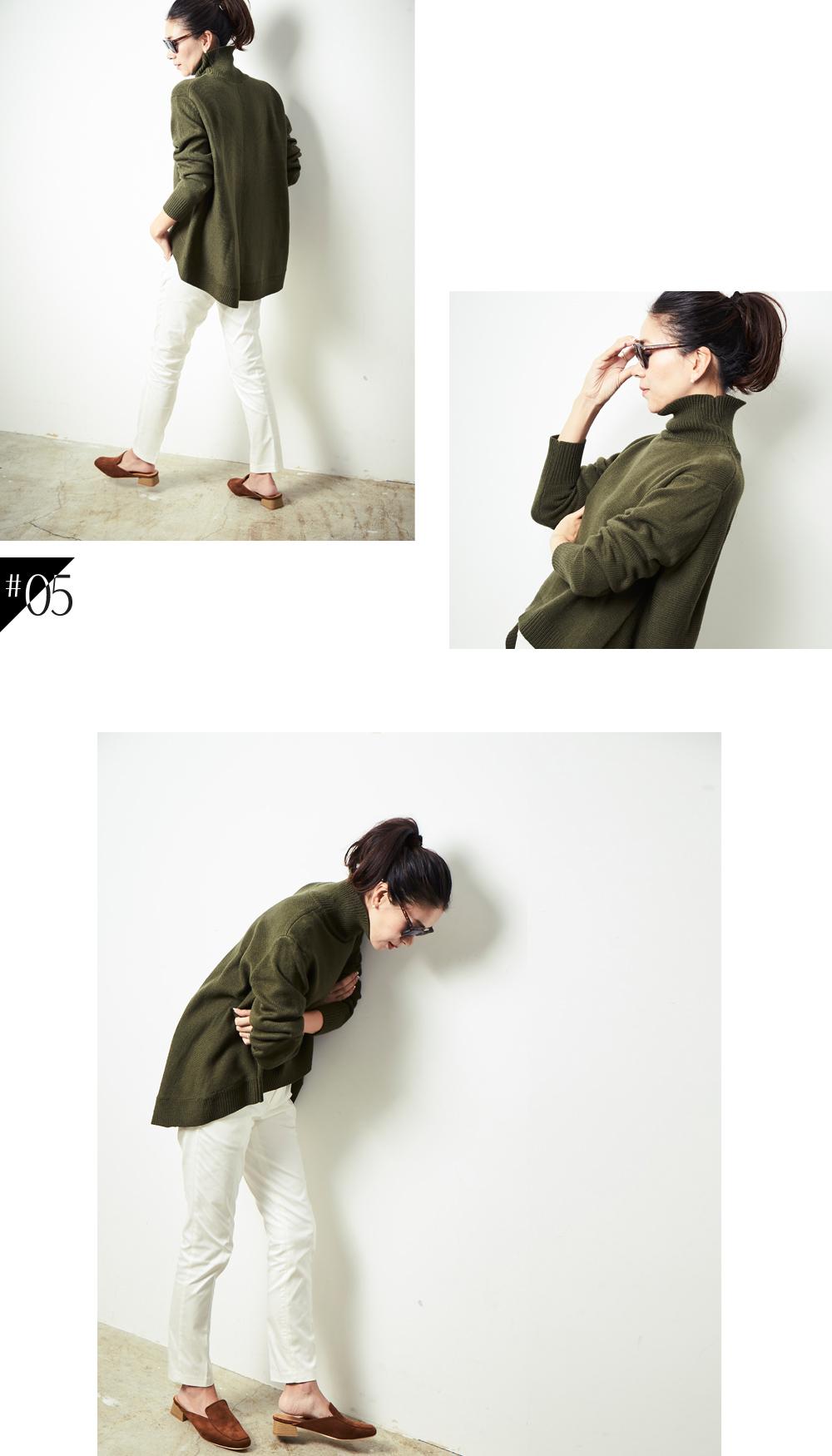 大人な着こなしで魅せるur'sの秋コレクション スタイリング大日方久美子(おびなたくみこ)_05