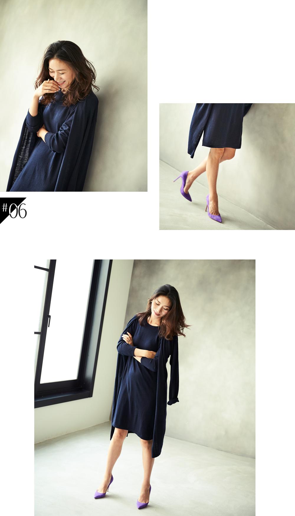 大人な着こなしで魅せるur'sの秋コレクション スタイリング大日方久美子(おびなたくみこ)_06