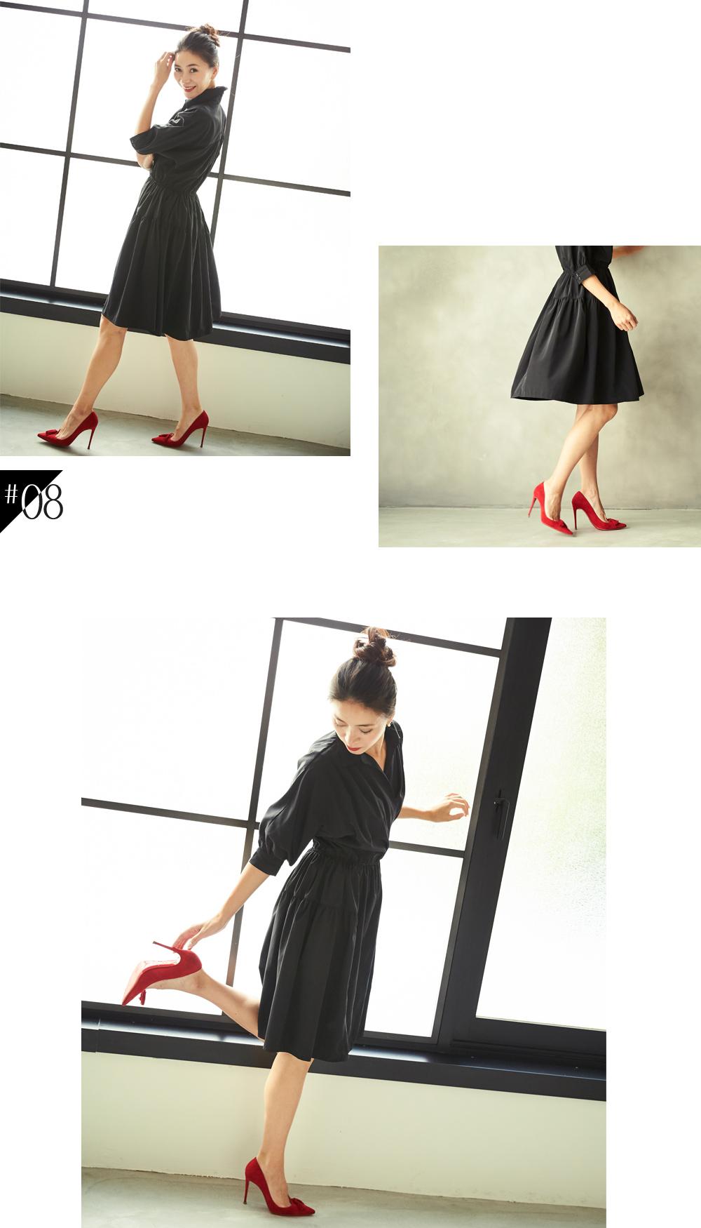大人な着こなしで魅せるur'sの秋コレクション スタイリング大日方久美子(おびなたくみこ)_08