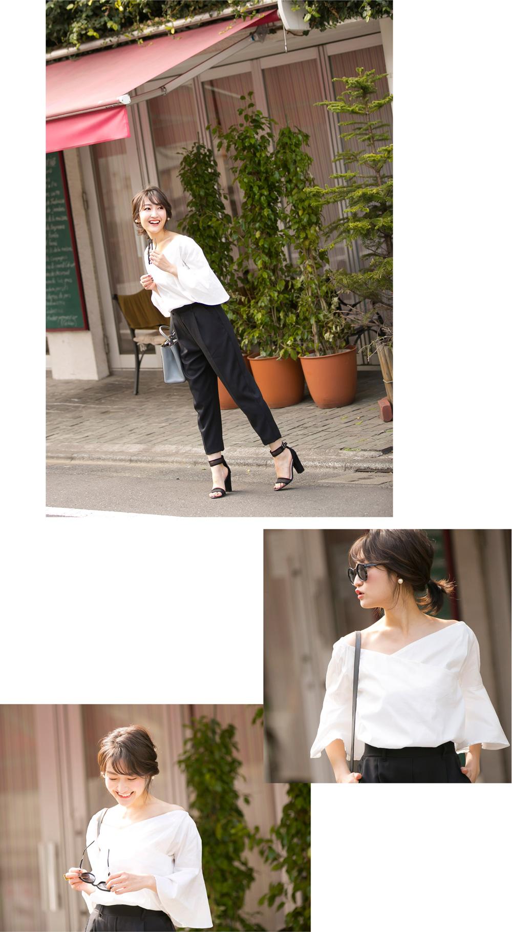 金子真紀さん提案「憧れの女性像になれるコーデ2」