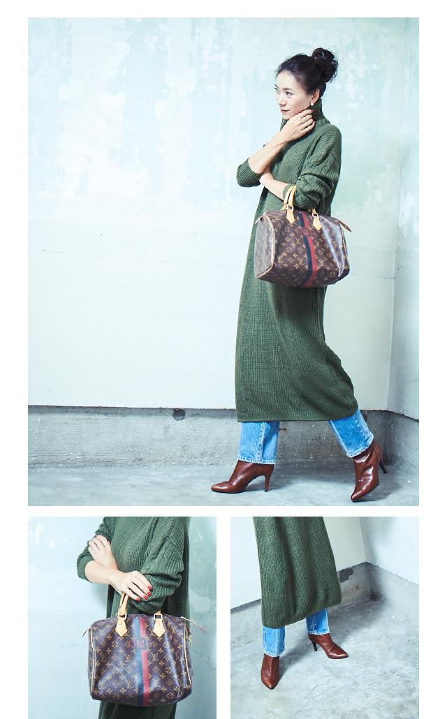 大人な着こなしで魅せるur'sの秋コレクション_02