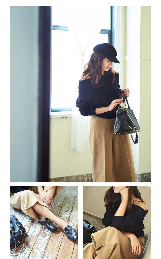 大日方久美子(おびなたくみこ)スタイリング/ドラマティックな装いで魅せるur'sの冬コレクション_03