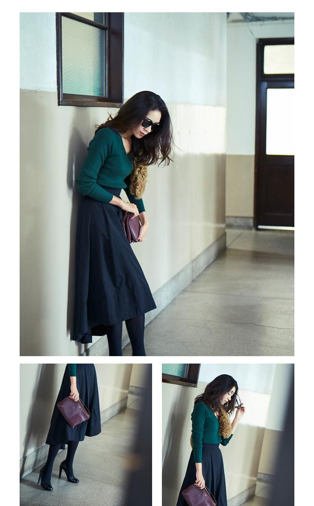 大日方久美子(おびなたくみこ)スタイリング/ドラマティックな装いで魅せるur'sの冬コレクション_04