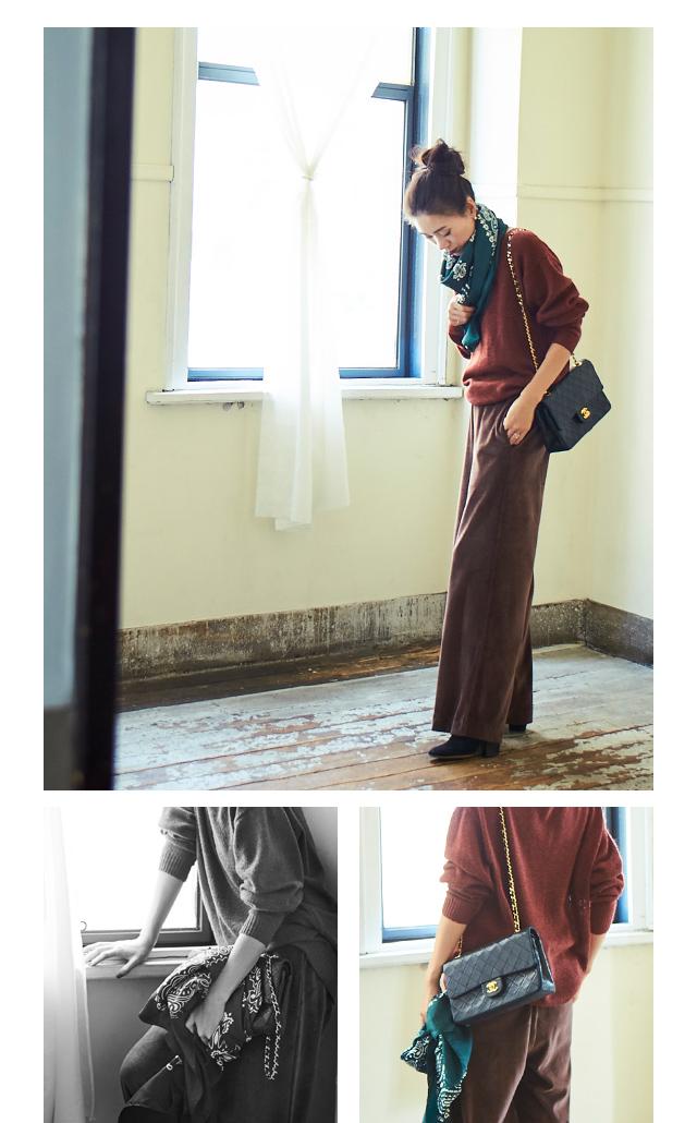 大日方久美子(おびなたくみこ)スタイリング/ドラマティックな装いで魅せるur'sの冬コレクション_05