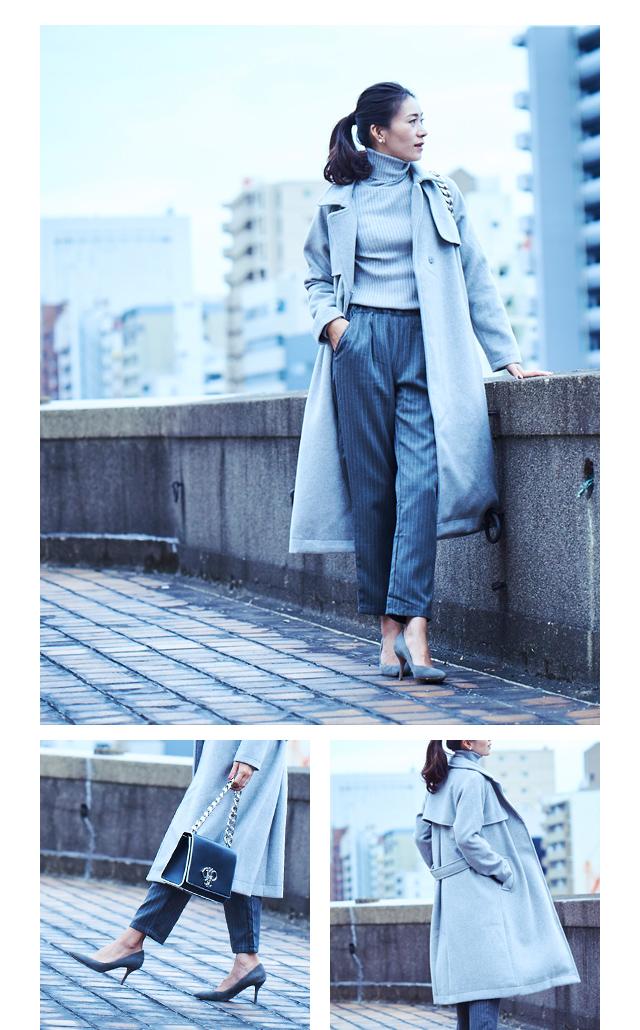 大日方久美子(おびなたくみこ)スタイリング/ドラマティックな装いで魅せるur'sの冬コレクション_06