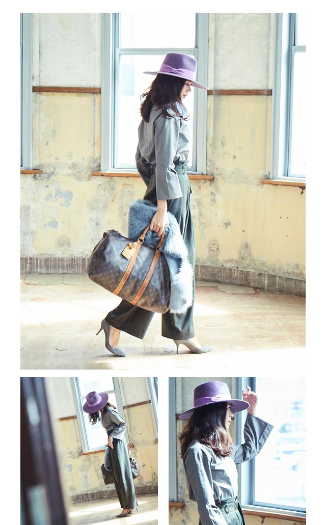 大日方久美子(おびなたくみこ)スタイリング/ドラマティックな装いで魅せるur'sの冬コレクション_07