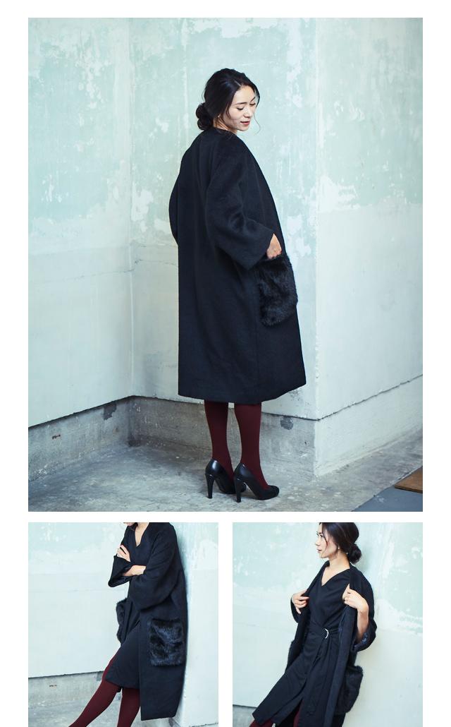 大日方久美子(おびなたくみこ)スタイリング/ドラマティックな装いで魅せるur'sの冬コレクション_08