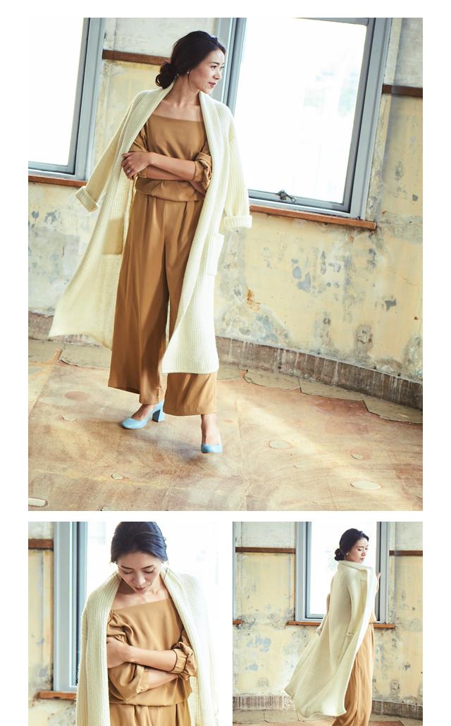 大日方久美子(おびなたくみこ)スタイリング/ドラマティックな装いで魅せるur'sの冬コレクション_09