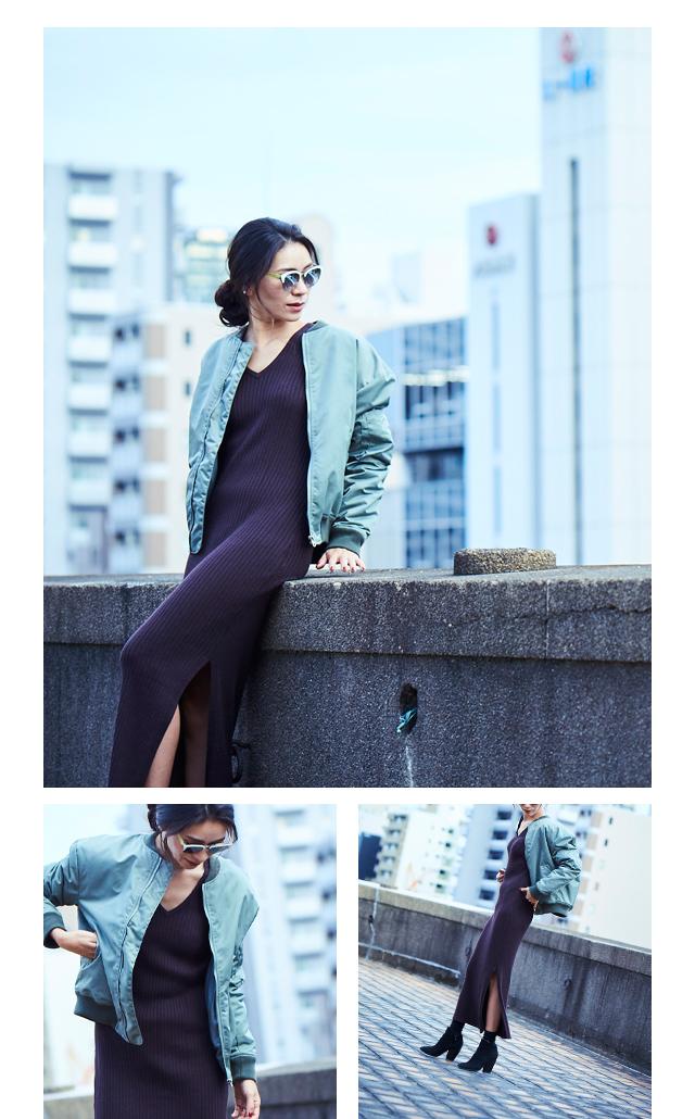 大日方久美子(おびなたくみこ)スタイリング/ドラマティックな装いで魅せるur'sの冬コレクション_10